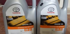 Моторное масло для Тойоты Рав 4